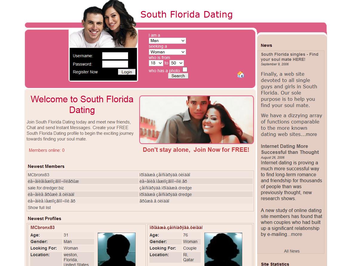 Dating web hosting